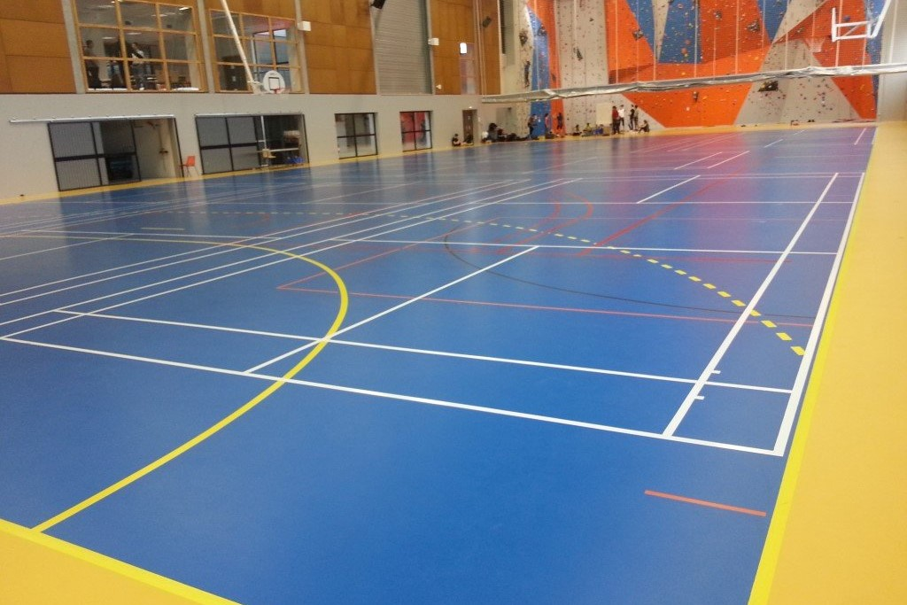 Indoor sports surface testing