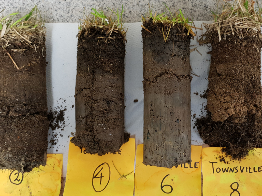 Labosport Australasia-Turf Rootzone Performance Testing samples