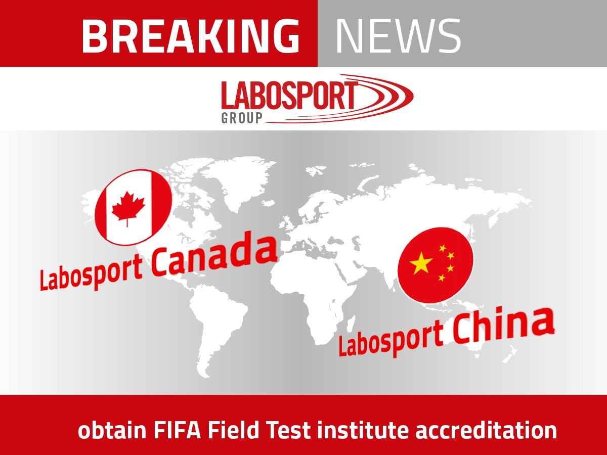 FIFA accreditation LS Canada and LS china